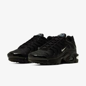 Nike-Bambini-Air-Max-Plus-TN-UK-3-amp-4-NERO-CQ7515-001