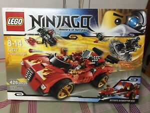 LEGO-Ninjago-X-1-Ninja-Charger-70727-NEW-IN-BOX-SEALED-FEDEX-Free-Shipping