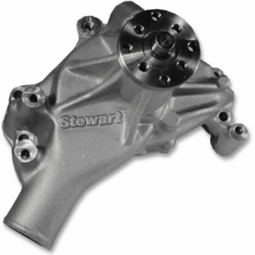 For Chevy Small Block Long Style Stewart 23113 Stage 2 High-Volume Water Pump