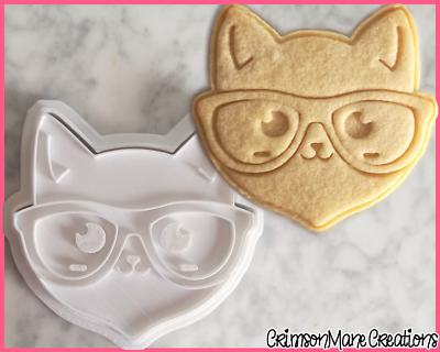 Halloween Cookie Cutter 8pcs Ghost Cross Cat Shape Fondant Ice Biscuit Cake Mold