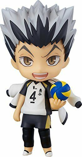 Nendoroid 719 Haikyu   KOTARO BOKUTO Action Figure Japan ROUGE Orange