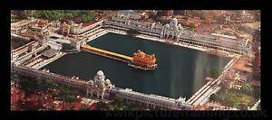 Harmandir-Sahib-Golden-Temple-Amritsar-Punjab-l-039-Inde-en-taille-18-x-8
