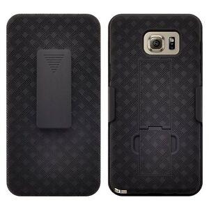 Samsung-Galaxy-Note-5-Case-Slim-Holster-Shell-Combo-Kickstand-Belt-Clip