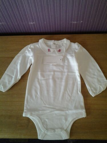 18 months,COLLARED BABY BODY VEST LONG SLEEVED. PUMPKIN PATCH ages birth