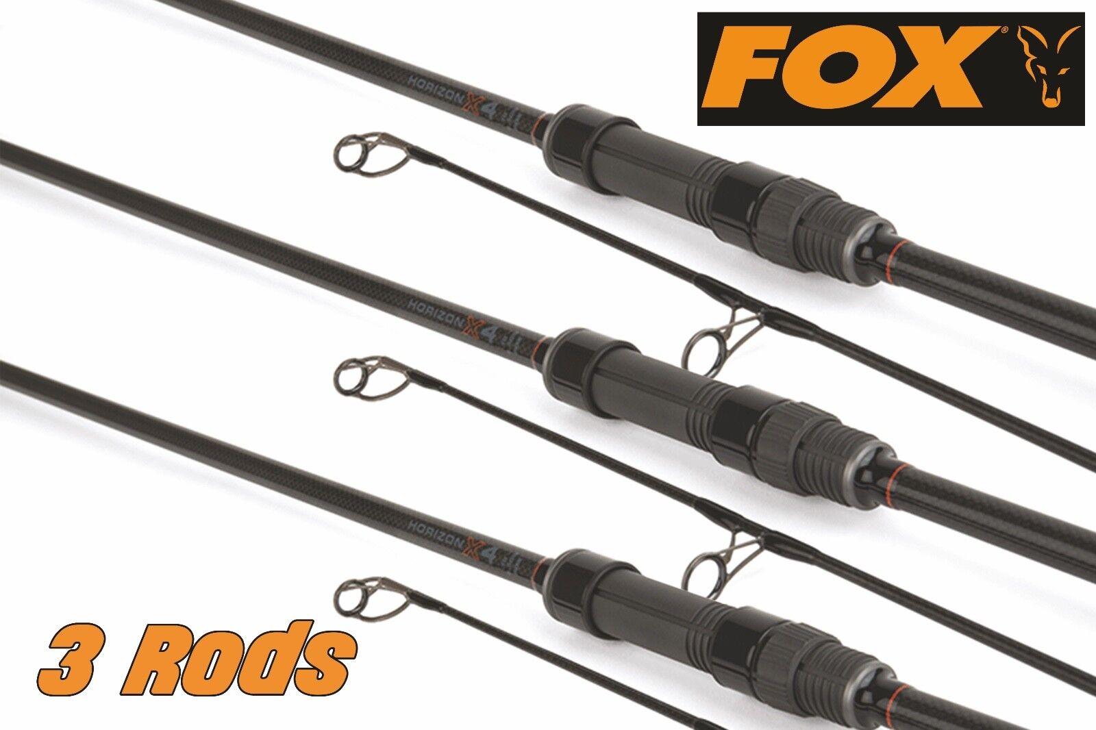 FOX Horizon X4 Abbreviated Handle 10ft 3.00lb CRD281 x 3 + FREE P&P