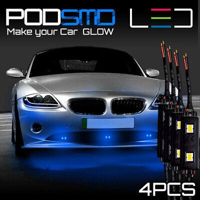 Rock Led Blue Accent Lights Underbody Neon Under Car Glow Kit For Honda Civic Ebay