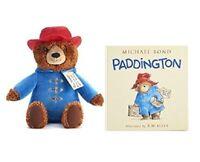 Kohl's Cares Paddington By Michael Bond - Plush Bear Toy & Hardcover Book Set