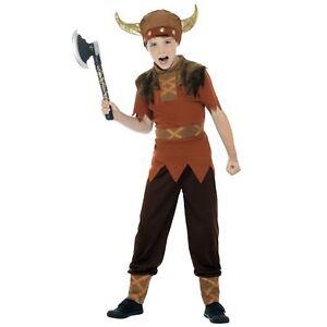 Kids-Boys-Viking-Warrior-Historical-Saxon-Book-Day-Fancy-Dress-Costume-Thrones