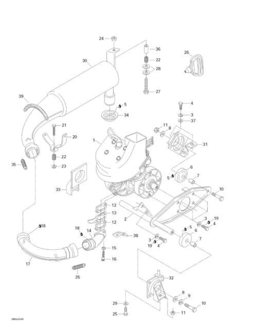 1995 Yamaha Sea Doo Parts Diagram