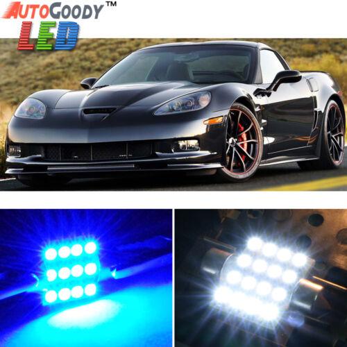 13 x Premium Blue LED Lights Interior Package for Chevy Corvette 1997-2013 Tool