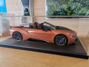 Original BMW i8 Roadster Edición Limitada 1 12 Escala Modelo de Resina 80 43 2 454 830