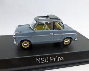 NSU Prinz 2, 1959, grau, 1:43, NOREV