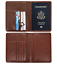 Slim-Leather-Travel-Passport-Wallet-Holder-RFID-Blocking-ID-Card-Case-Cover-US thumbnail 24