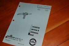 Miller Welder Mhg 35c1 Mig Gun Spare Owner Operator Operation Maintenance Manual