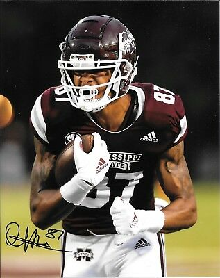Photos Osirus Mitchell Hand Signed Mississippi State Bulldogs 8x10 Photo W/coa College-ncaa