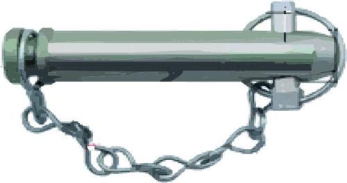 Schlepper Sicherungsbolzen 182 x 25 mm Traktor Oberlenkerbolzen