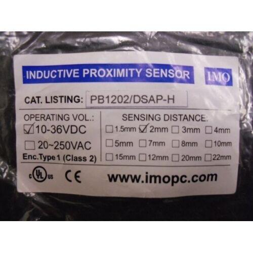 Proximity Sensor PB1202DSAPH IMO PB1202//DSAP-H