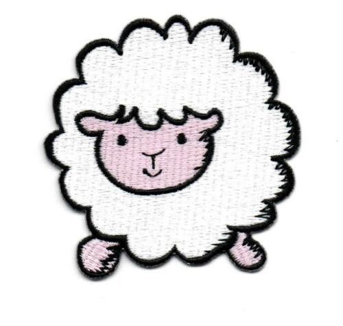 Sheep Lamb Ewe Fun Retro Boho P379 Embroidered Iron on Patch High Quality Jacket