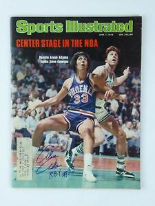 Alvan Adams NBA Phoenix Suns Signed Vintage 1976 Sports Illustrated Magazine
