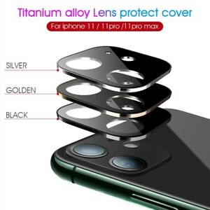 Camera Lens Protector Case For iPhone 11 Pro Max Tempered Glass Metal Full Cover