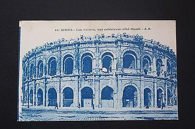 Carte Postale Ancienne Cpa Nimes - Les Arènes, Vue Extérieure (côté Ouest)