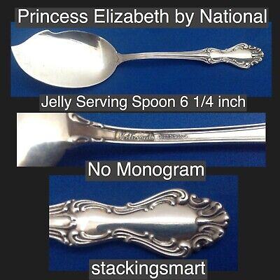 "Princess Elizabeth By National Sterling Silver Teaspoon 5 3//4/"""