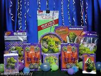 Shrek Party Set 13 Shrek Party Supplies Napkins Plates Candle Shrek Tablecover