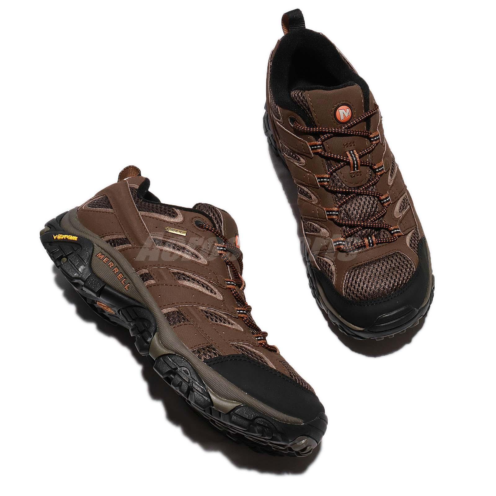 Merrell Moab 2 GTX Gore-Tex Earth Earth Earth Brown Black   Outdoors Shoes Sneaker ML06041 2406fe