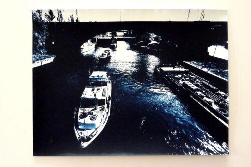 Rüdiger Dichtel NECKAR IN CANNSTATT König-Karls-Brücke * Limit. Vintage v 2001