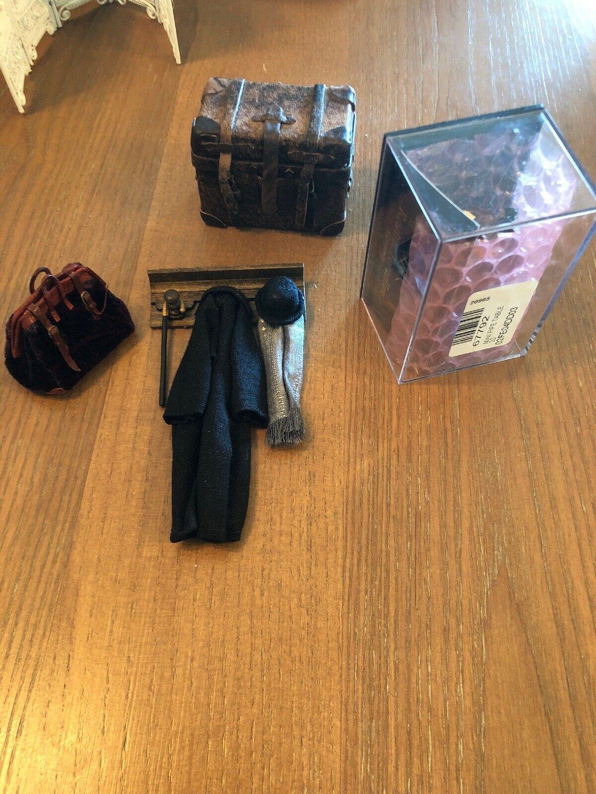 Accesorios De Casa De Muñecas En Miniatura Tubo Mesa unbrella Sombrero Rack Vapor tronco agradable
