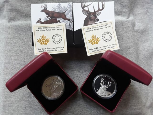 2014 S$20 Canada Silver Lake Ontario NGC PF69