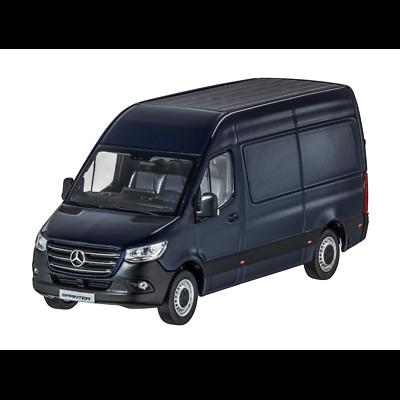 selenitgrau neue Sprinter 1:18 Mercedes Benz Kastenwagen BR907 Norev