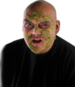 Costume Makeup Green Goo Zombie Rot Face Halloween Appliance Costume Accessory