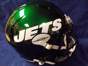 5b0efeb4a 2019 NEW YORK JETS NFL RIDDELL SPEED REPLICA FULL SIZE FOOTBALL ...