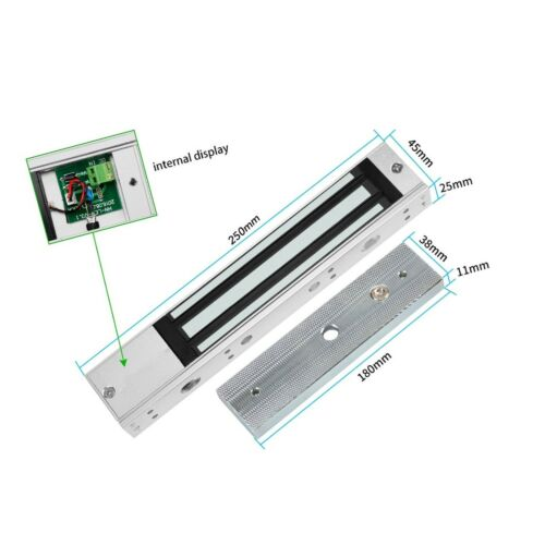 Magnetic Lock Access Control Electric Loc... Details about  /HFeng Electromagnetic 280KG 600lbs