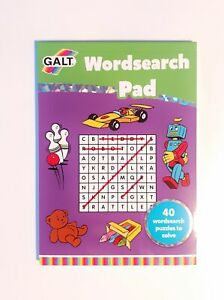 Wordsearch-Pad-for-Age-7-40-Puzzles-with-Solutions-A5-Hard-Back-Galt-Toys