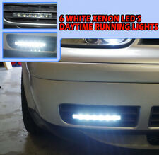 6 LED DRL BRIGHT WHITE IGNITION START XENON KIT HIGH QUALITY CHIPS UK SELLER