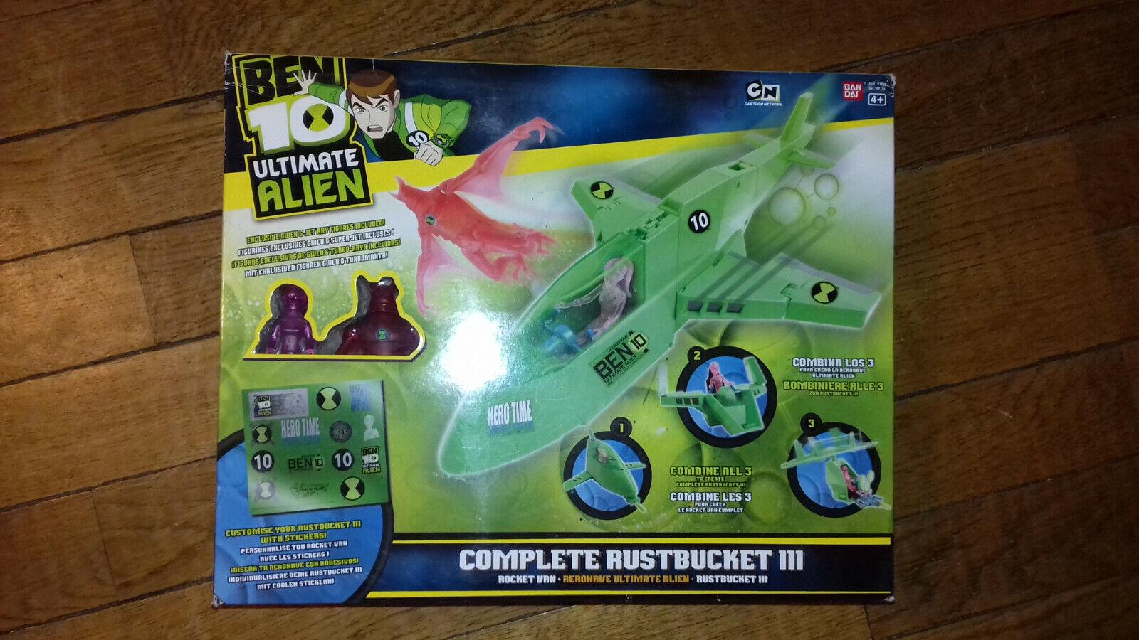 BEN 10 - - - ultimate ALIEN - VERY RARE -  exclusive - complete RUSTBUCKET 3 5ef842