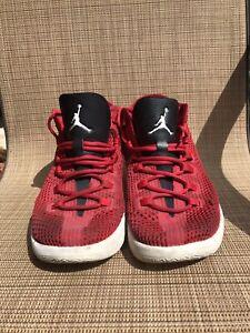 brand new 53e4e 50bdd Image is loading Nike-Jordan-Reveal-Red-Blk-White-834064-605-