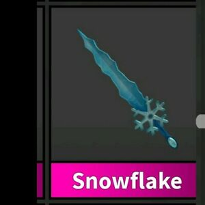 Roblox Murder Mystery 2 Mm2 Snowflake Godly Knife Read Desc - Godly Weapons Snowflake Knife Murder Mystery 2 Roblox Weapon