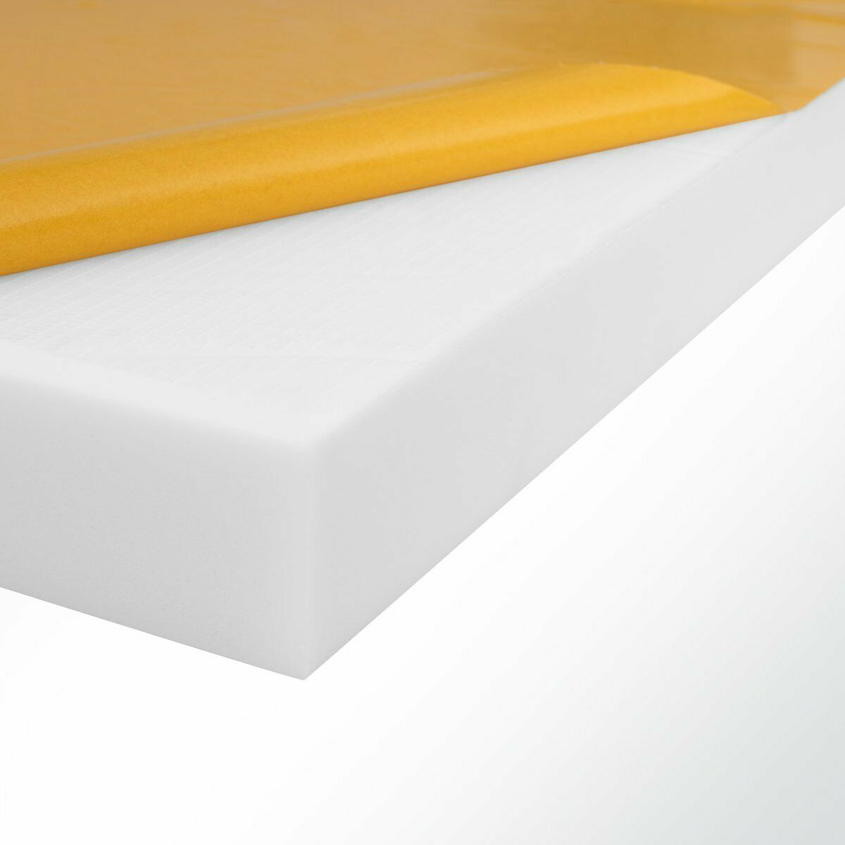 Schall-Absorber aus Basotect®  Melaminharz Schaumstoff selbstklebend 100x50x10cm