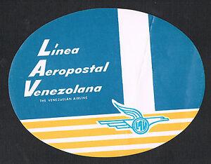 Luggage-Label-Linea-Aeropostal-Venezolana-Venezuelan-Airline-Label