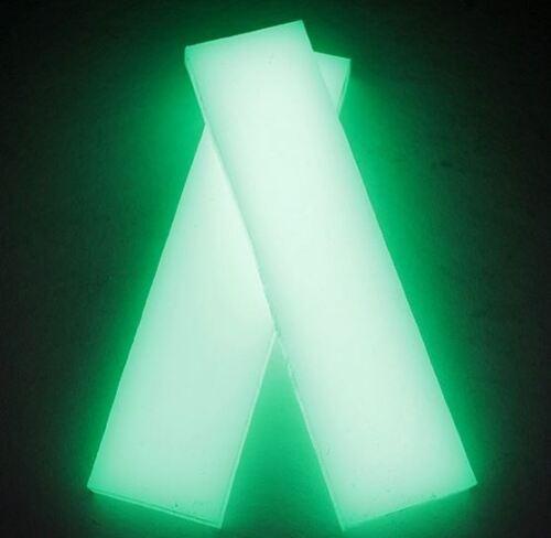 """Kirinite cuchillo haciendo en funcionamiento Starlight resplandor 1//4/"""" escalas de 6/"""" X 1.5/"""" para madera"""