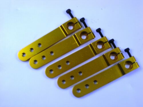 x 5pcs Horn For Hitec 24T Wholesale Lots New 50mm CNC Alloy Servo Arm