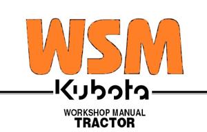 Kubota B20 BT750 Tractor Loader Backhoe Workshop Service Manual BT650 TL420