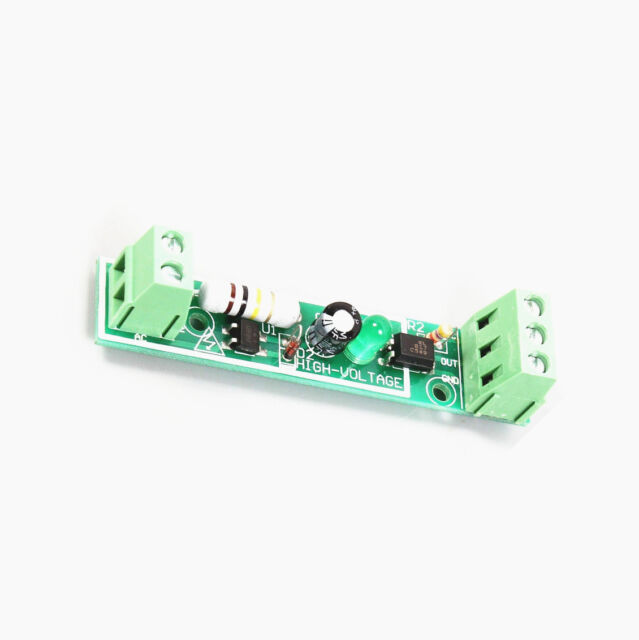 1X 1-Bit AC 220V Optocoupler Isolation Module Testing Board Adaptive for PLC M8