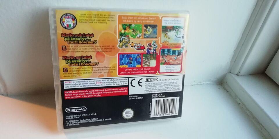 Mario & Luigi: Bowser's Inside Story, Nintendo DS