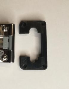 Hinge Repair Kit - IKEA PAX - KOMPLEMENT Soft closing hinge - DiscoLapy - BLACK