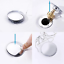 2Pcs Push Type Bounce Core Universal Wash Basin Drain Filter For 1.38 inch Hole
