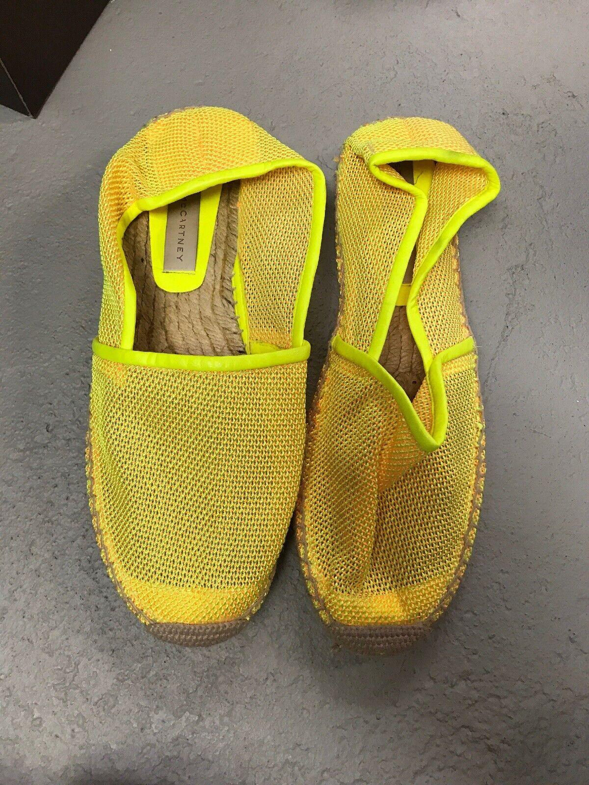 Stella mccartney shoes Espadrilles Size 41 Yellow Neon